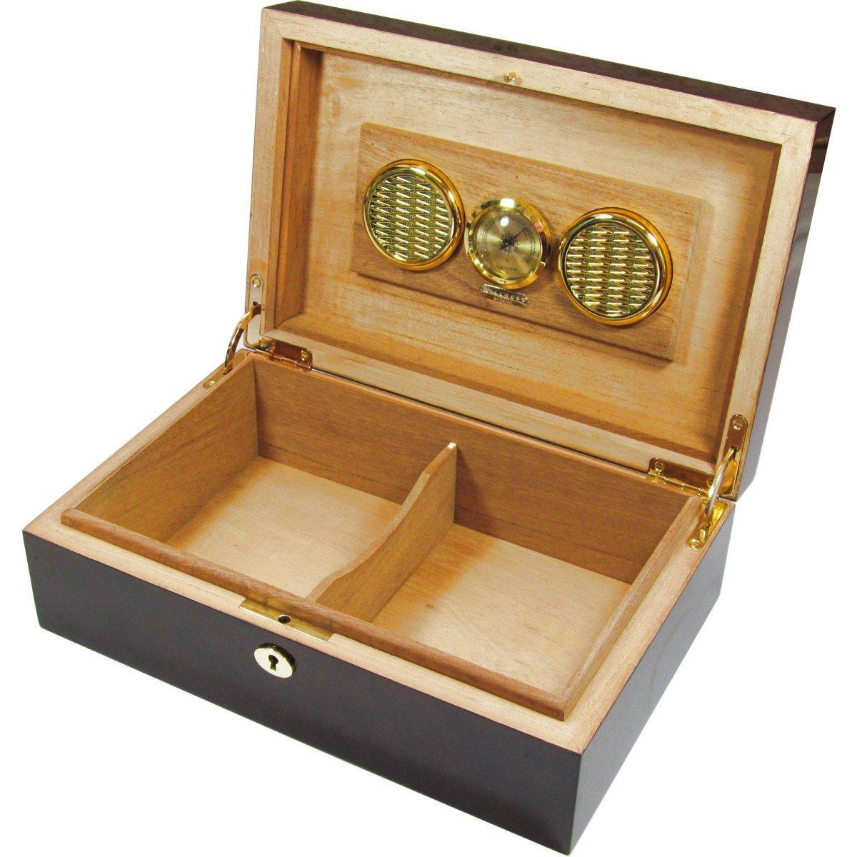 Home / Shop / Luxury Gifts / Cigar Humidors / Camphor Burl 25 Cigar ...