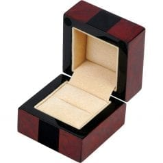 Makah Burl and Piano Black Ring Box  sc 1 st  Hillwood & Luxury Ring Boxes - Perfect For Wedding Engagement u0026 Diamond Rings Aboutintivar.Com